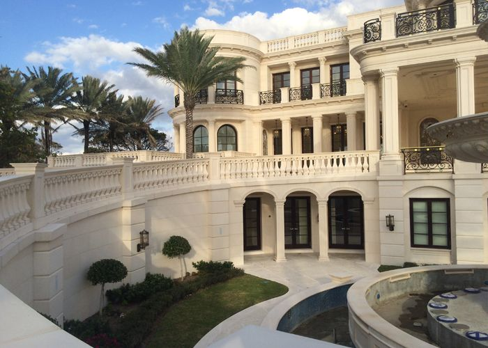 Le palais royal hillsboro beach fl cga stone for Biggest house in miami